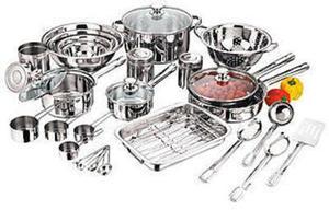 Essential Home 31 PC SET 31-Pc. Cookware Set