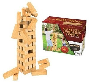Giant Sized Jumbling Tower Game