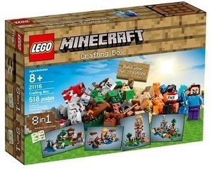 Lego Minecraft Creative Adventures Crafting Box