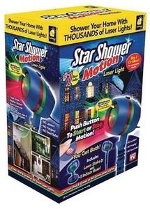 Star Shower Motion Laser Light Projector w/ Free $5 Target Gift Card