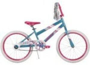 "20"" Huffy Girls' Sea Star Bike, Aqua Blue 16-20"" Rock It or SeaStar Bikes"