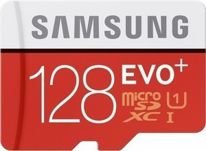 Samsung EVO 128GB microSDHC Class 10 UHS-1 Memory Card
