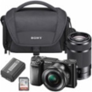 Sony Alpha A6000 Camera + Free 32GB Memory Card & Bag