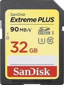 SanDisk Extreme PLUS 32GB SDHC UHS-I Memory Card