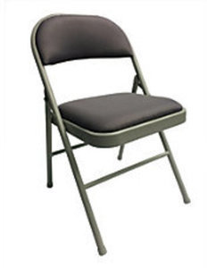 Realspace Upholstered Padded Folding Chair