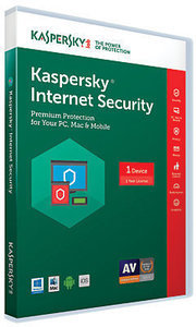 Kaspersky Internet Security 2017, For PC/Mac, Traditional Disc