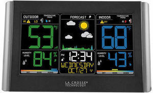La Crosse Wireless Color Weather Station with Remote Sensor