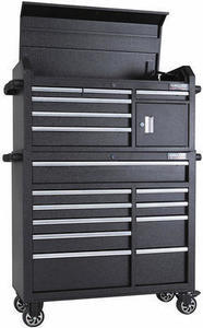 "Kirkland Signature 42"" Mobile 16 Drawer Tool Chest"