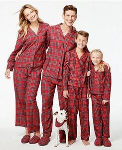 Family Pajamas Holiday Plaid Pajama Sets