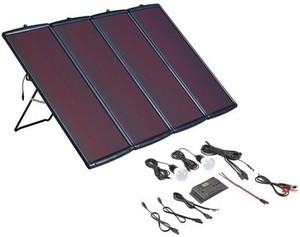 100 Watt Solar Panel Kit Thunderbolt Magnum 100 Watt Solar Panel Kit