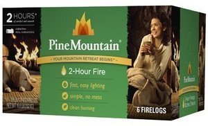 Pine Mountain 2-Hour Traditional Fire Logs, 6-Pk.
