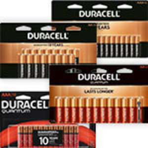 Duracell AA or AAA Batteries