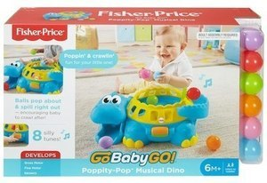 Fisher Price Go Baby Go Poppity Pop Musical Dino
