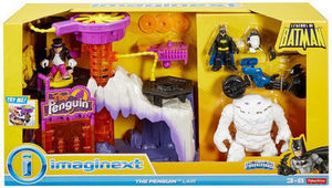 Imaginext DC Super Friends Legends of Batman The Penguin Lair Play Set
