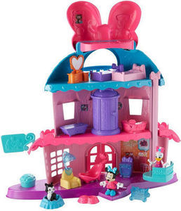 Minnie's Happy Helpers Home Sweet Headquarters Playset