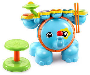 VTech Zoo Jamz Stompin' Fun Drums Toy