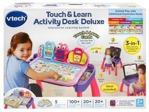 Tech Touch Learn Activity Desk Deluxe Interactive Learning System