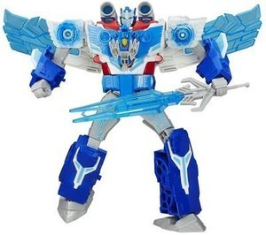 Transformers: Robots in Disguise Power Surge Optimis Prime & Aerobolt