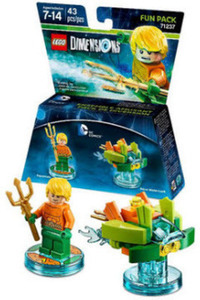 Aquaman Fun Pack w/ Purchase of Lego Dimensions Starter Packs Xbox One & PS4