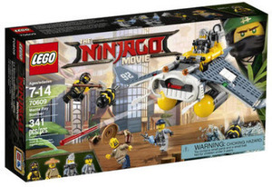 The LEGO Ninjago Movie Manta Ray Bomber
