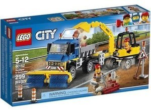 LEGO City Great Vehicles Sweeper & Excavator