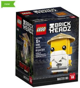 LEGO BrickHeadz The Ninjago Movie Master Wu