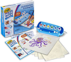Crayola Color Wonder Mess Free Coloring Magic Light Brush and Drawing Pad Set