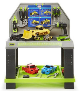 Little Tikes Construct 'n Learn Smart Vehicle Workbench Set