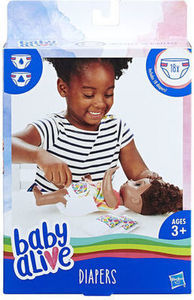Baby Alive 18-Pack Diapers w/ $40 Baby Live Purchase