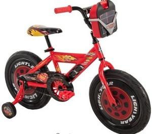 Boys 16 inch Huffy Disney Pixar Cars Bike