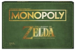 Monopoly Legend of Zelda Collector' s Edition Game