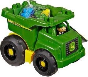 Mega Bloks John Deere Dump Truck Construction Set