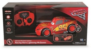 Disney Pixar Cars 3 Infrared Remote Control Car - Racing Hero Lightning McQueen