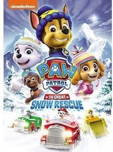 Paw Patrol Snow Rescue DVD Beanie Gift Set