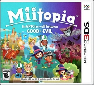 Miitopia: An Epic Face-off Between Good and Evil 3DS