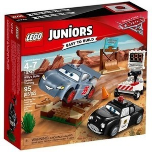 Lego Juniors Disney Pixar Cars 3 Willy's Butte Speed Training
