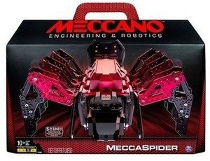Meccano Erector MeccaSpider Robot Kit