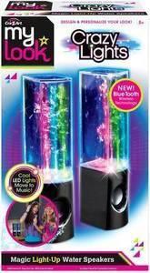Cra-Z-Art My Look Crazy Lights Magic Water Speakers