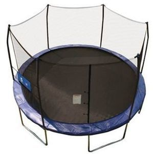 Skywalker Trampolines 12' Round Jump-N-Toss Trampoline with Enclosure