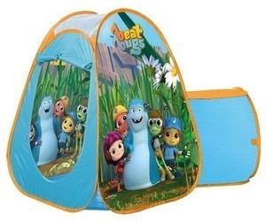 Beat Bugs Pop Up Play Tent Set w/ Tunnel & Projector