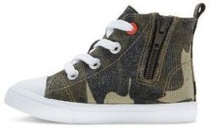 Toddler Boys' Haywood Mid Top Canvas Sneakers