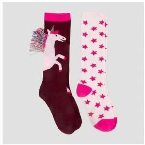 Girl's 2pk Cat Jack Knee Highs