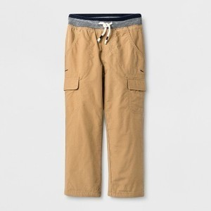 Cat & Jack Toddler Boys' Lined Cargo Pants  (Brown)