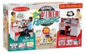 Melissa and Doug Deluxe Star Diner Restaurant
