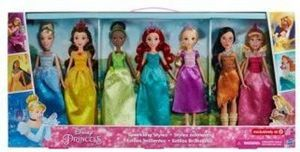 Disney Princess Sparkling Styles Collection
