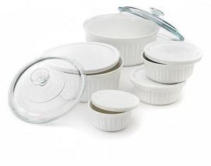 CorningWare 11 pc. French White Set After Rebate
