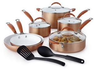 Cooks 10-Piece Copper Set After Rebate