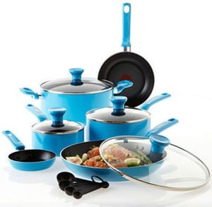 T-fal Excite 14-Piece Aluminum Nonstick Set After Rebate