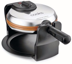 Cooks Copper Rotating Waffle Maker After Rebate