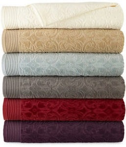 Royal Velvet Verona Sculpted Bath Towel